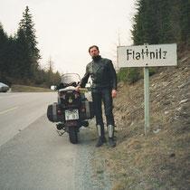Flattnitz (1420 m)  46° 56′ 45″ N, 14° 1′ 45″ O