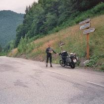 """Col de Poutran (1996 m)  45° 6' 25.5312"""" N, 6° 4' 37.7616"""" O"""