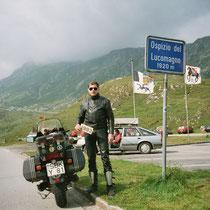 Lukmanierpass (italienisch Passo del Lucomagno) (1920 m)  46° 33′ 46″ N, 8° 48′ 3″ O