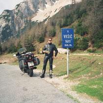 Vršič-Sattel (1611 m)  46° 26′ 10″ N, 13° 44′ 41″ O