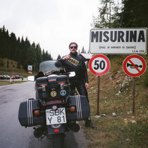 "Misurinapass (Col Sant'Angelo) (1.756 m)   46° 35' 3.012"" N, 12° 15' 14.1444"" O"