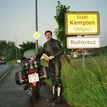 Kemten (Allgäu) (674 m)  47° 44′ N, 10° 19′ O