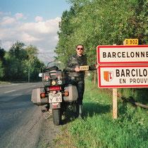 Barcelonnette (1134 m)  44° 23′ N, 6° 39′ O