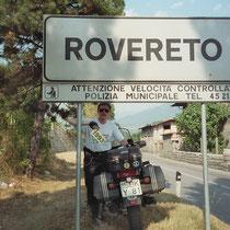 Rovereto (204 m) 45° 53′ 0″ N, 11° 3′ 0″ O