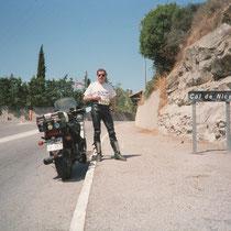 """Col de Nice (409 m)   43° 49.612200"""" N 7° 21.022920"""" O"""