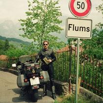 Flums (456 m)  47° 5′ 30″ N, 9° 20′ 33″ O