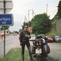Martigny (471 m)  46° 6′ 0″ N, 7° 4′ 0″ O