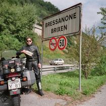 Brixen (italienisch Bressanone) (575 m)  46° 43′ N, 11° 39′ O