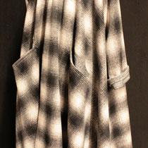 Manteau lains dans le biais