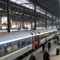 Interior de la estación Basel SBB