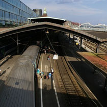 Cubierta de la estación Basel SBB