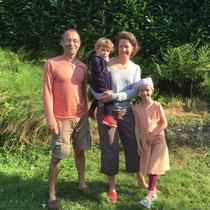 Mes hôtes warmshowers à Fontaine La Mallet