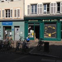 Magasin de vélo à Strasbourg