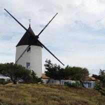 Vue du camping de l'Epine à Noirmoutier