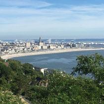 Vue sur le Havre depuis Ste Adresse