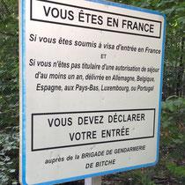 Formalités françaises