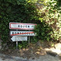 Arrivée à Rouen