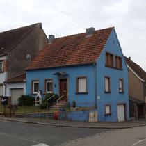 Maison colorée lorraine