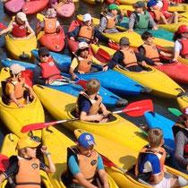 Kayaks à Strasbourg