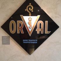 Le logo d'Orval