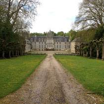 Le château de Manneville