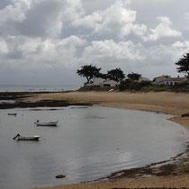 Plage de la pointe de la Herbaudière à Noirmoutier