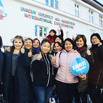 Стажировка в Праге для специалистов из Казахстана. Организована Центром стажировок Ahoj!Student