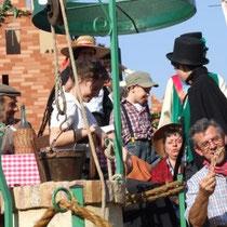Il carro di Moriondo alla festa di Chieri nel 2007