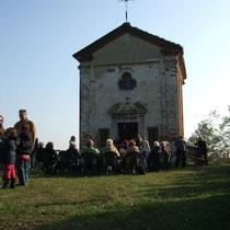 Messa a San Salvatore per la festa del patrono