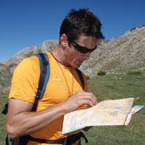 Curso de montaña y orientación