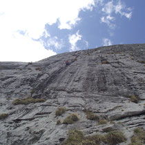 Curso de escalada de varios largos