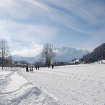 Bild: Sehr schöne Winterwanderwege laden ein das Winterparadies so richtig zu genießen