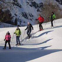 Bild: Schneeschuhwandern - das besondere Erlebnis