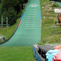 Skisprungschanze(Drei Schanzen Tournee) in Bischofshofen in 10km Entfernung