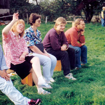 Beim Kinderfest 1992