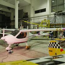 Sportflugzeug Teilfolierung nach Kundenwunsch