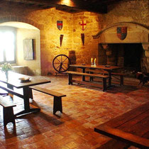 The Knight's Chamber, medieval B&B Tennessus castle