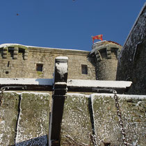 Tennessus medieval castle bed and breakfast in Winter