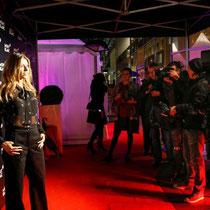 Model und Moderatorin Cathy Hummels bei der Montblanc Store Erföffnung in Hamburg.
