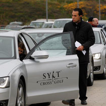 Audi hat unser Event als Fahrzeugpartner unterstützt und mit einem klasse Shuttleservice die Mobilität unserer prominenten Gäste gesichert.