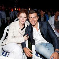Auch die Schauspieler Florian Wünsche und Janina Batoly genossen das Event sichtlich.