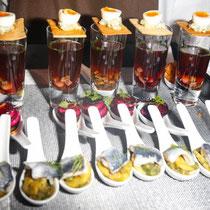 Das Catering bei der Montblanc Boutique-Erföffnung wurde vertrauensvoll von Cornelia Poletto übernommen.
