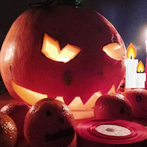 Pumpkin expertly carved by Tanya which was the feature of MANY pictures on Tuesday night :)