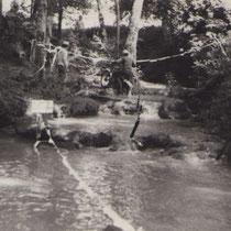 Zone de la cascade de l'Aubarit (près du circuit de moto-cross d'Arbis)