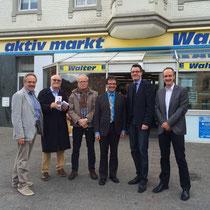 """""""CDU vor Ort"""" in Büsbach (u.a. Geschäftsrundgang)"""