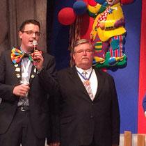 Grußwort bei dem karnevalistischen Seniorennachmittag der IG Büsbacher Vereine