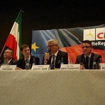 Auf der CDU-Veranstaltung zum Thema Inklusion. Wir packen es an!