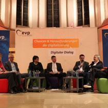 Bei der Veranstaltung eGovernment - Digitalisierung der öffentlichen Verwaltung in Aachen
