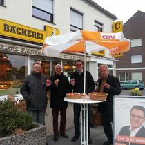Osteraktion der CDU Stolberg am Ostersamstag
