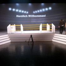 Eventarchitektur, Bühnenbau Volksfürsorge